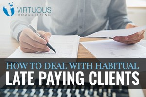 Deal with Habitual Late Paying Clients